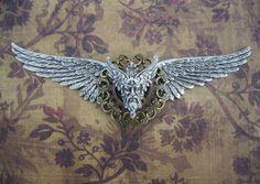 LARGE Steampunk Greek God of Wind Astraeus Wings - Airship Pilot / Aether Pilot / Independent Fleet Commander