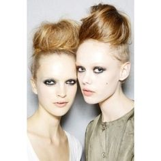 Runway Hair- high top dos- for ballet dancers and some of the models