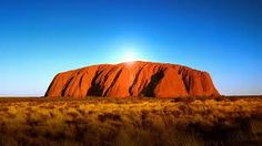 uluru - stunning landscape and magical example of how stories create culture Places To Travel, Places To See, Places Ive Been, Travel Destinations, Sidney Australia, Aboriginal Culture, May Bay, Rock Formations, How To Level Ground