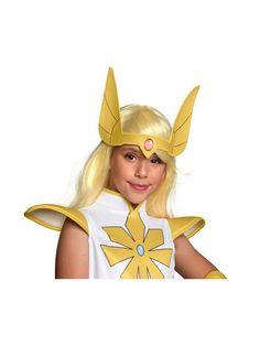 She-Ra and the Princesses of Power Adult She-Ra Wig Elf Warrior, She Ra Princess Of Power, Group Halloween Costumes, Farmhouse Wall Decor, Fun Wedding Invitations, Princess Zelda, Disney Princess, Guardians Of The Galaxy, Headpiece
