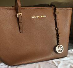 c5ee65e73100e7 Michael Kors Tan Brown jet Set Tote Purse Handbag #fashion #clothing #shoes  #accessories #womensbagshandbags (ebay link)