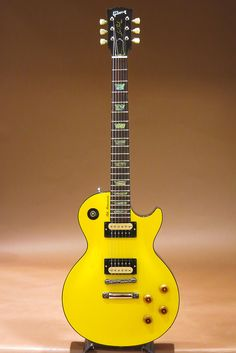 GIBSON CUSTOM SHOP Tak Matsumoto Les Paul Canary Yellow