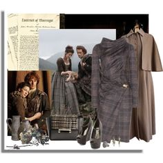 """Work Wear Inspired by Outlander"" by signaturenails-dstanley on Polyvore"