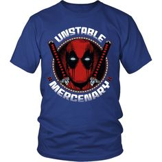 Unstable Mercenary Tee or Hoodie