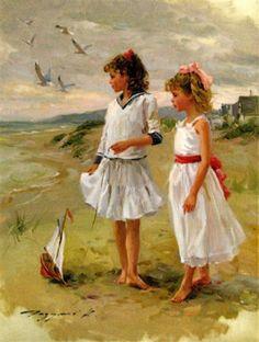 On The Normandy Coast -- Konstantin Razumov (1974, Russian)
