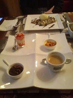 Café Gourmand: Café com seleção de mini sobremesas !!! Delícia! Bistrot de Paris | São Paulo