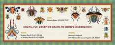 Bugs and Gingham Boy Invitation