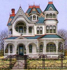Now this is gorgeous #victorianhouses