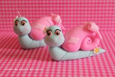 Snails cake toppers