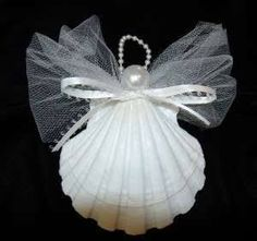 shell christmas ornaments - Google Search