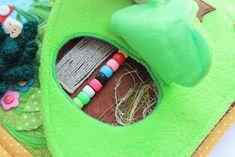 Handmade by mom: Очередная готовая развивающая книжечка, на это раз для девочки Катюши!!! Dolls House Figures, Discovery Bottles, Busy Bags, Blog, Kids, Crafts, Handmade, Kid Stuff, Felt