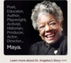 #1 Favorite Female writer. I admire her so much. Beautiful person <3 Maya Angelou <3
