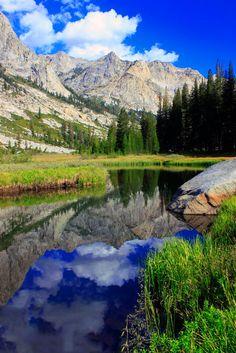 Deer Meadow - John Muir Trail via rockcreeklake
