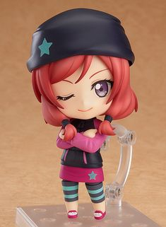 Good looks overflowing with intelligence! ♪From the popular anime series 'LoveLive!' comes a Nendoroid of Maki Nishikino wearing her training outfit! She comes with both a winking expression as well as an embarrassed, upset expression for when the others are making fun of her.Optional parts include her cellphone as well as a drink to sip on when she is taking a break between training sessi... #tokyootakumode #figure #Love_Live_Series #Love_Live! #Maki_Nishikino