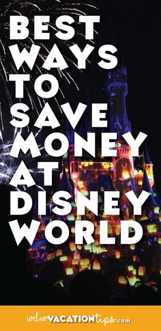 If you are looking to save money on your Disney vacation this is a MUST read!