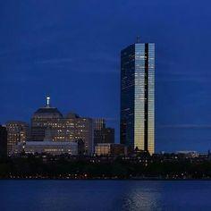 Boston blue waters/blue sky- pretty
