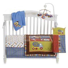 CoCalo™ Road Work 4-Piece Crib Bedding Set & Accessories - BedBathandBeyond.com