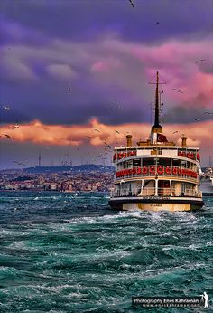 ISTANBUL II by eneskahramann.deviantart.com Pretty but looks a bit too choppy for me.