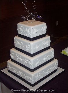 my wedding cake. a few modifications will be made.