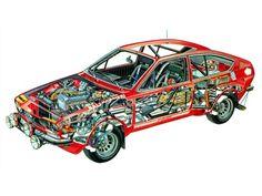 Alfetta Gt group2 rallycar