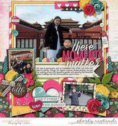 November 2016 SSD Bingo Challenge: #21 scrap a happy story Half pack 174: photo focus 80 template by Cindy Schneider Moments that matter by Melissa Bennett and Kristin Cronin-Barrow