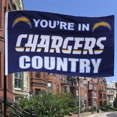 San Diego Chargers Flag