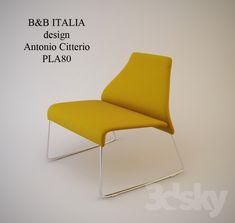 Chair B&B Italia Pla80