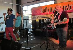 Chris Rockwell & The Stickball Social Club live at the BallyHoo Festival in OHIO! Photo courtesy of Ohio Music Scene. #ChrisRockwell #HipHop