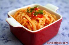 Korean Radish SaengChae | Aeri's Kitchen | Cooking Korean Recipes & Food
