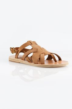 764fefe6d62e Ancient Greek Sandals Enyo Nubuck Cappuccino Sandals - Side Cropped Image  Ancient Greek Sandals