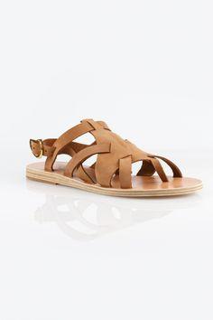 764fefe6d62e Ancient Greek Sandals Enyo Nubuck Cappuccino Sandals - Side Cropped Image  Ancient Greek Sandals