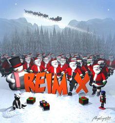Weihnachts-Illustration 2013 | Reimix