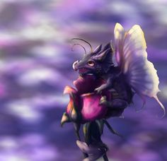 Little Butterfly Dragon by Foxeaf