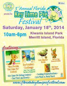 Pie fest January 17, 2015 Merritt Island Merritt Island, Island Park, Key Lime Pie, Bartender, January, Florida, Key Lime Cake