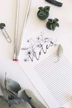 For the note-taker - on Branding Design, Notes, Etsy, Shopping, Report Cards, Brand Design, Corporate Design