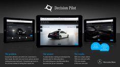 3. Auszeichnung für Mobile Marketing @ Mercedes-Benz mit dem Decision Pilot Der Tablet-Konfigurator von Mercedes-Benz ist mit dem iF DESIGN AWARD 2015 ausgezeichnet worden. http://www.blogomotive.com/2015/03/die-dritte-auszeichnung-fuer-mobile-marketing-mercedes-benz-cars/