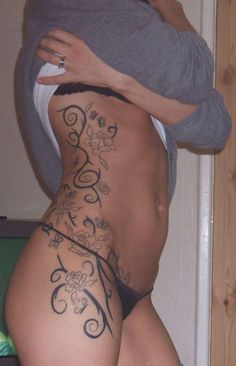 Side Tattoos For Women | Tribal+tattoos+for+women+on+side