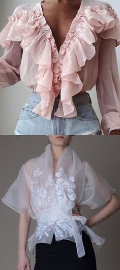 Mode Outfits, Casual Outfits, Fashion Outfits, Womens Fashion, Fashion Tips, Fashion Design, Fashion Trends, Petite Fashion, Beautiful Blouses