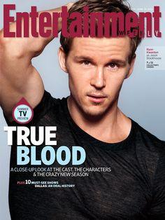Ryan Kwanten EW June 15, 2012 cover (Jason Stackhouse ~ True Blood)