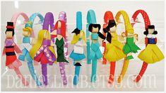 Disney princess head bands!