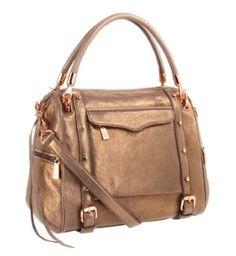 Rebecca Minkoff Cupid Metallic Shoudler Bag