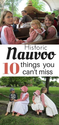 Those who do not learn history are doomed to repeat it. Learning history by visiting historical sites and through fun, hands-on activities is far more effective than learning from books. Orison Orchards | Nauvoo | US History | Road trip | travel | travel with kids | Pioneers | LDS Church History