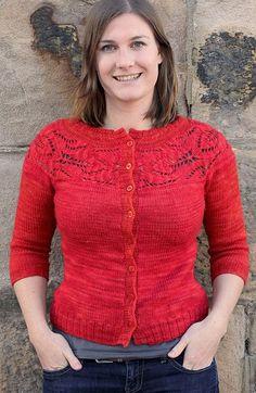 Вязание кардигана Lush