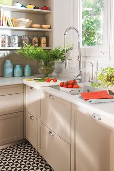Improve Your Home's Value With Natural Stone Counter Tops Best Drain Cleaner, Kitchen And Bath, Kitchen Decor, Kitchen Sink, House By The Sea, Home Upgrades, Stone Countertops, French Country House, Beautiful Kitchens
