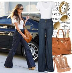 street, created by mandysol on Polyvore