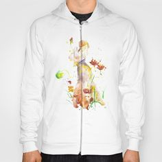 Woman's Abstract - Fall Hoody by MIKART   Society6