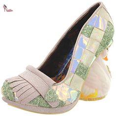Irregular Choice , Escarpins pour femme - Vert - Vert, 41 - Chaussures irregular choice (*Partner-Link)