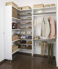 内部収納 Dressing Room Design, New Homes, Cabinet, Storage, House, Japan, Cloak, Pantry, Home Decor