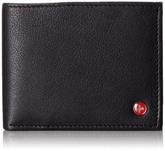 Alpine Swiss Men's flip-out wallet. Top 10 Best Men's Wallets In 2015 Reviews
