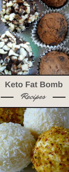 3 Delicious Keto Fat Bomb Recipes - Perfect sweet #halloween treats for a #lowcarb ketogenic diet